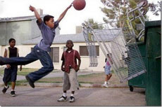 NBA黑人球员小时候都是这么练出来的