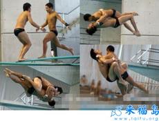 据说是明年奥运会双人跳水的新招式!