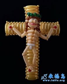 喜感的耶稣玩偶