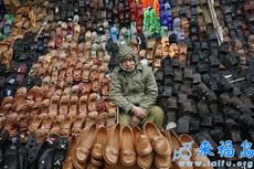 卖不掉鞋子的老板