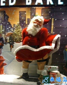 好妩媚的圣诞老人