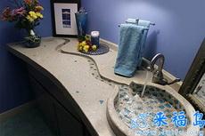 這樣的洗手池看起來很有創意啊!