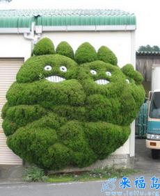 哪个园丁如此有创意,把树木修剪成这样啦……