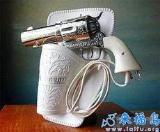 La sopladora en forma de pistola