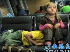 机场里的兄妹,这才是亲哥哥啊!!