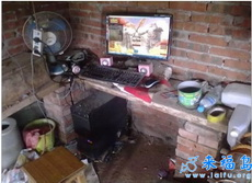 俺们家也有电脑玩