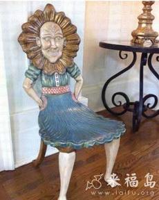 这椅子也太吓人了