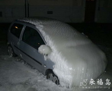 这情况,启动暖车得半个小时才安全