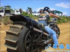 你们骑的摩托车都弱爆了