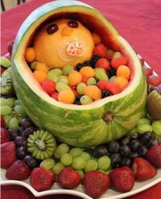 好彪悍的水果拼盘~~~~