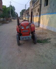 这是我见过最帅的拖拉机了