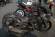 这摩托车霸气外露啊,比什么跑车帅多了