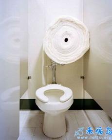 这些厕纸应该够用了吧