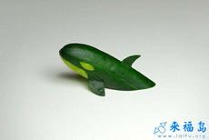 黄瓜做的犀利小虎鲸