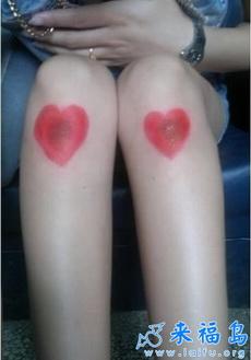 妹子,你膝盖这是肿么了