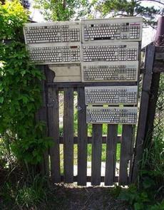 IT宅男家里的围栏