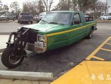 省了一個輪胎錢!