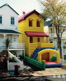 跟家里一模一样的气垫房子