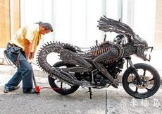 应该是史上最酷的摩托车了