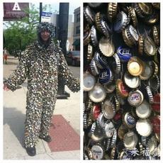 Bottle cap costume