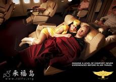 以后一定乘坐此航空公司的飞机