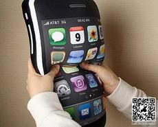 好大的一个iPhone啊