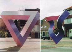 它们是同一个雕塑,只是不同角度,你信吗?