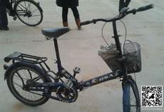 这自行车好像有哪里不对