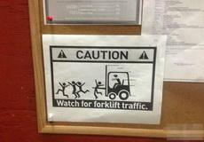 这个警示挺明显的啊!