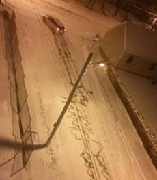 车技差的女人真不能雪天开车
