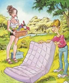 男人和女人的想法总是相反的