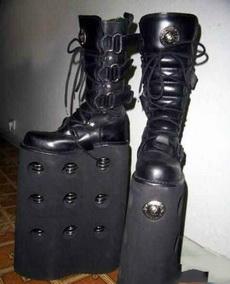 霸气侧漏的鞋子