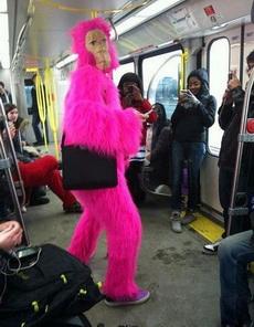 地铁上真是奇葩多啊!