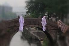 今天过桥的时候差点吓尿了