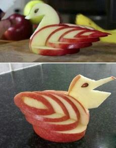 苹果能削成这样,给跪了!