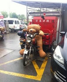 我的熊怎么跑那当司机了?