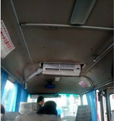 这才是正宗的空调车好吗?