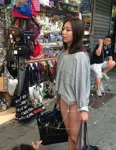 美女的新裙子,只有聰明人的人才看得到。