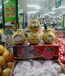卖水果的也是蛮拼的