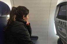折腾半天一定要靠窗的位子,上机后。