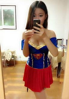 超人的媳婦來人間了,我看上她了,誰幫我牽下紅線啊