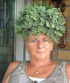大妈,发饰不错啊