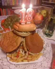 这个蛋糕我也是醉了!
