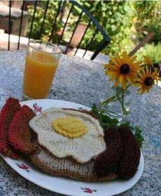 織出來的早餐