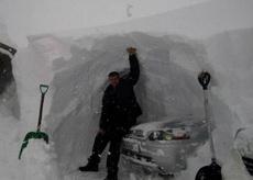 这得是多大的雪呀!