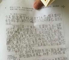关于写人品质的作文_外国人写的中文作文,真是一个悲伤的故事