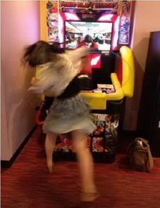 当女汉子遇到游戏机