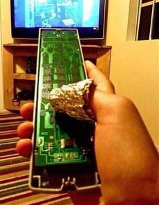 家里电视遥控器坏了