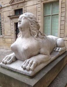 狮身女人面像