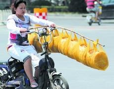 中国好室友,打饭竹竿挑